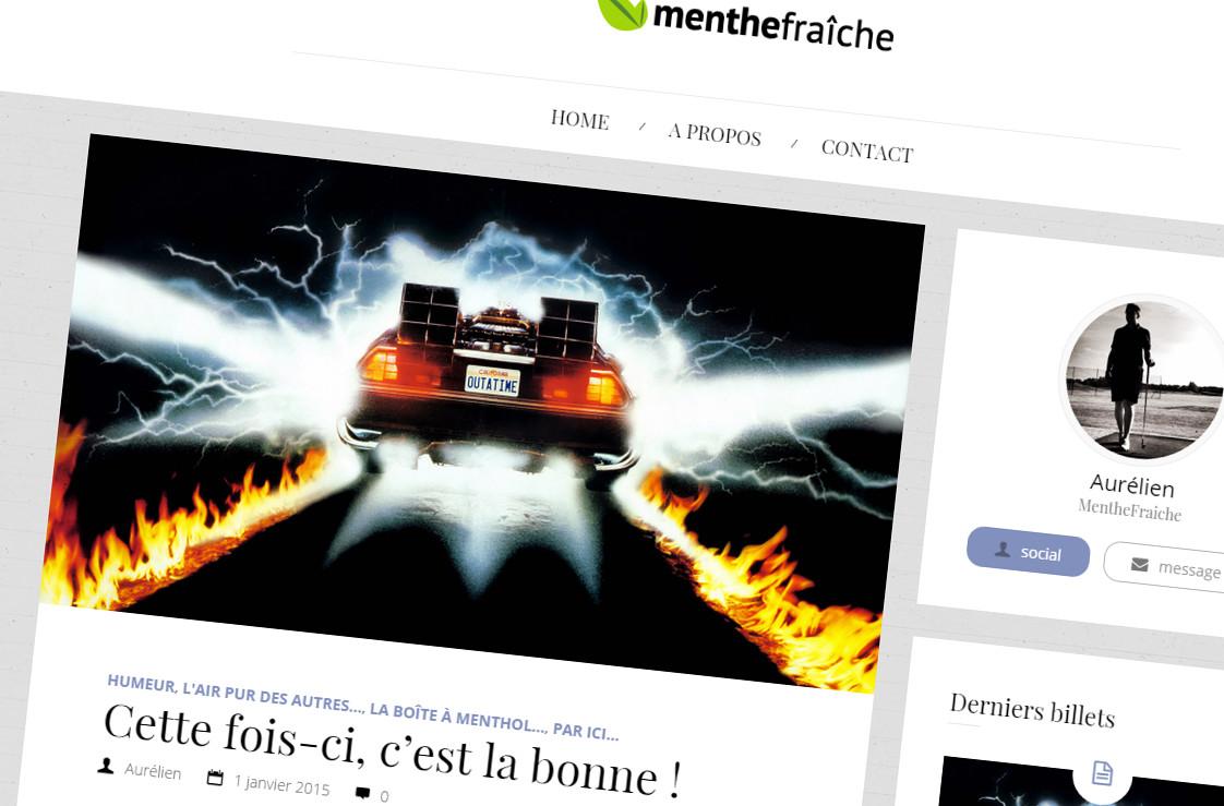 Design 2015 : Menthe Fraîche retourne vers le futur…