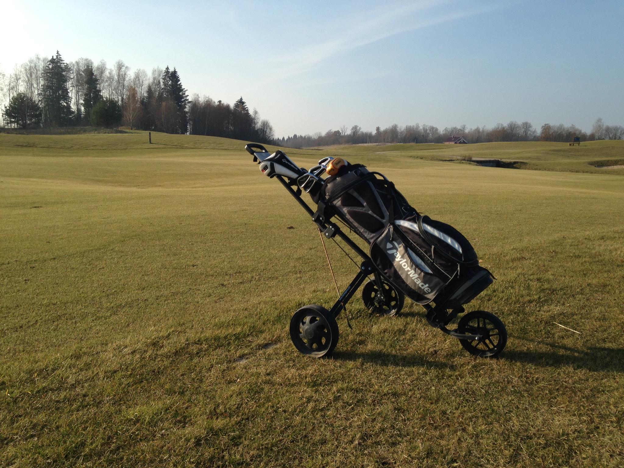 The V Golf Club, calme et complexe…